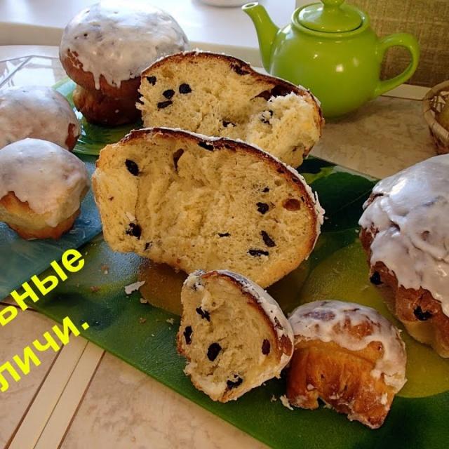Тесто для кулича пасхального рецепт в духовке