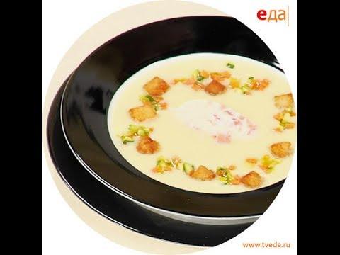 Картофельный крем-суп со сливками /  Обед безбрачия