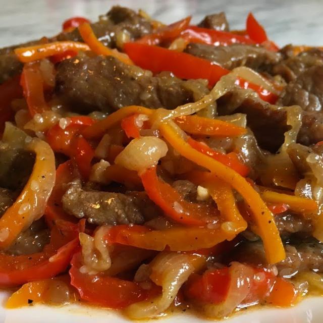Мясо По-Китайски/Говядина с Овощами/Китайский Рецепт Natasha Parkhomenko