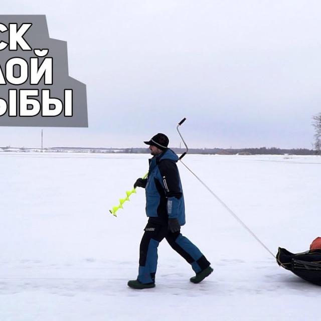 Поиск белой рыбы на Волге Леонидыч на рыбалке