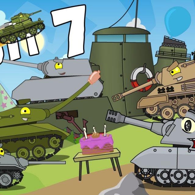 Новый Топ 7 Мультики про танки с глазками для мальчиков 4 5 6 лет
