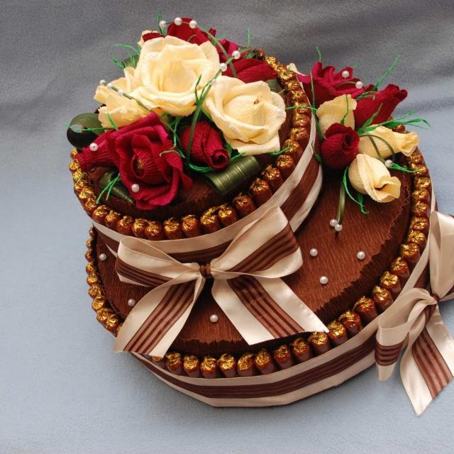 Торт из конфет своими руками | Мастер-класс | DIY Cake of sweets