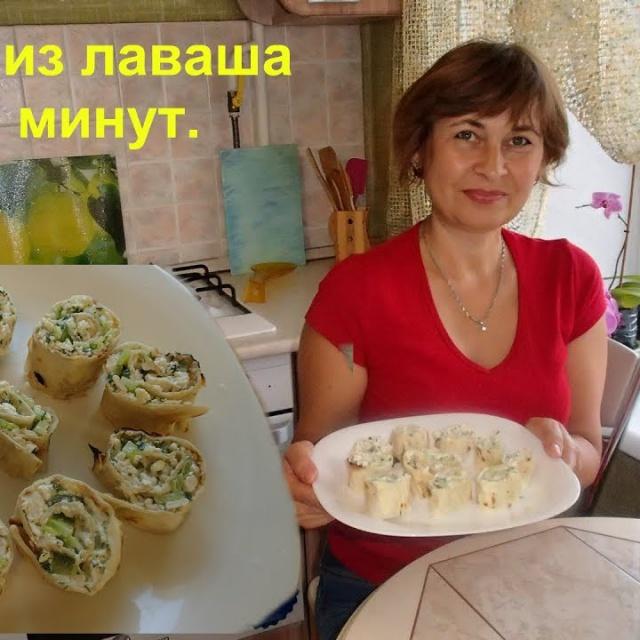 Ольга Уголок -  Быстрый и не калорийный завтрак или перекус за считанные минуты