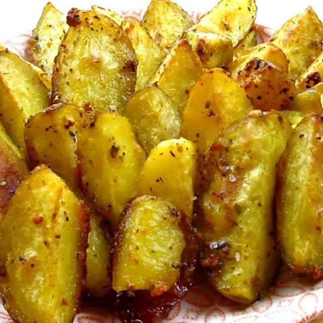 Картофель по селянски в духовке / Rustic potatoes in the oven