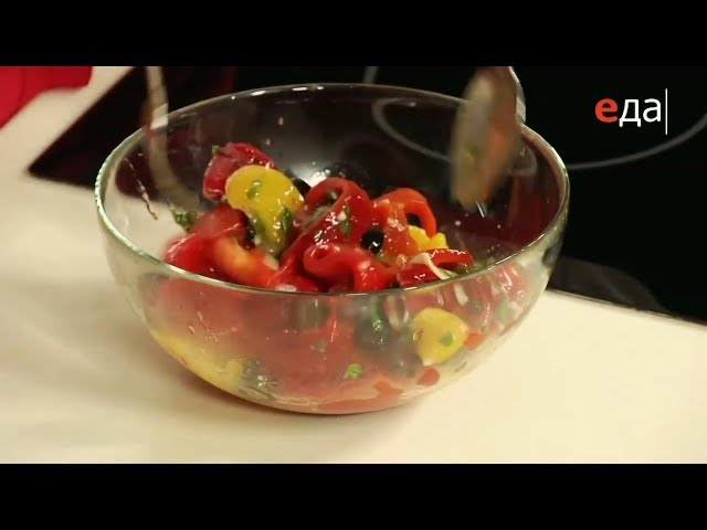 Хранение закуски из запечённого болгарского перца в холодильнике - Лазерсон Кулинарный ликбез