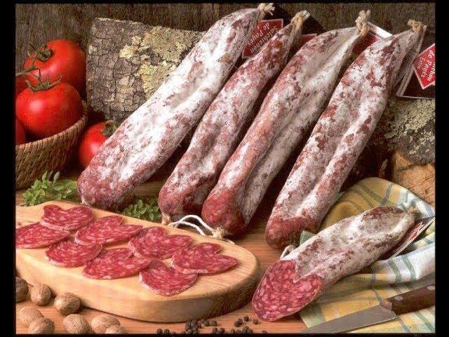 Испанские колбасы чоризо сальчичон морсилья от Ильи Лазерсона