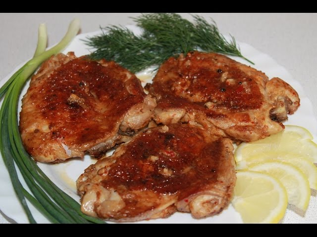 Цыпленок Табака или бёдрышки Тапака - Готовим дома