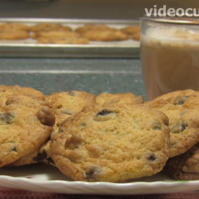 Печенье Шоколадные чипсы - Рецепт Бабушки Эммы