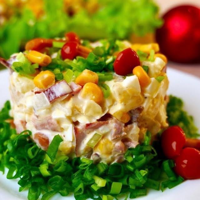 Очень Простой и Вкусный Салат Вы Точно Приготовите Его на Новый год   Ольга Матвей