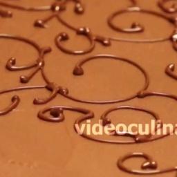 Украшение тортов шоколадным кружевом от Бабушки Эммы