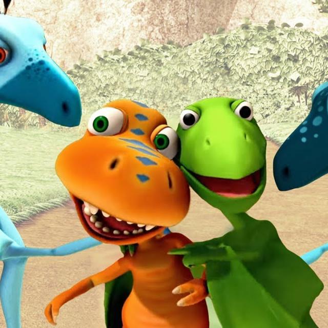 Поезд Динозавров Мультсериал   Быстрые друзья Развивающий мультик