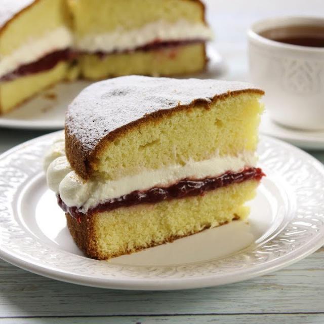 Ирина Хлебникова Торт Бисквит Королевы Виктории ✧ Victoria Sandwich Cake