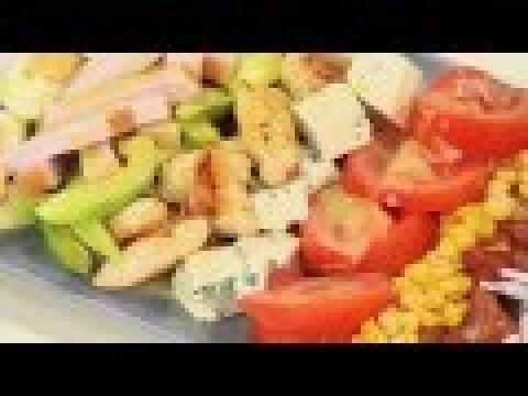 Кобб-салат - классика кухни США от Ильи Лазерсона/Обед безбрачия