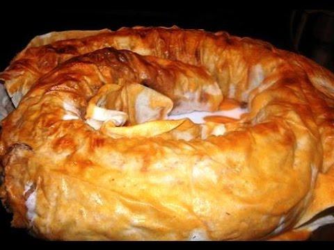 Очень вкусный пирог из лаваша с фаршем и картошкой
