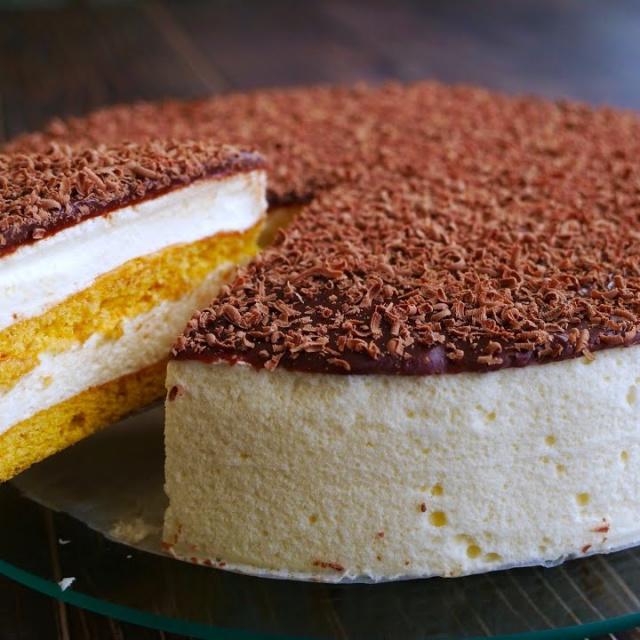 Торт «Птичье Молоко»  | Рецепт Ольги Матвей