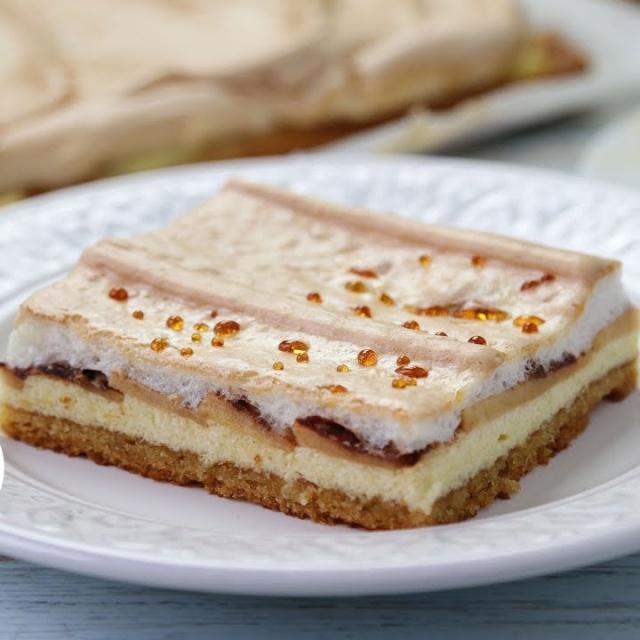 Творожный Пирог с Яблоками и Карамельными Слезами | Ирина Хлебникова