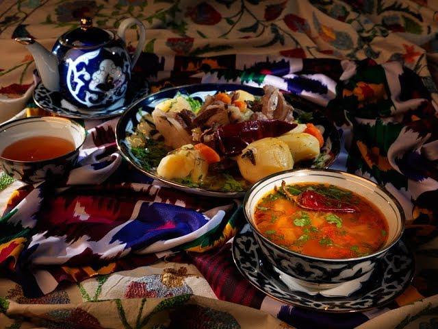 Узбекская шурпа | Рецепт Сталика Ханкишиева Казан Очаг Живой огонь