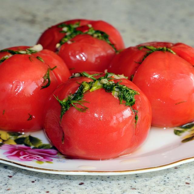 Армянчики на зиму - Рецепт из красных помидор без стерилизации