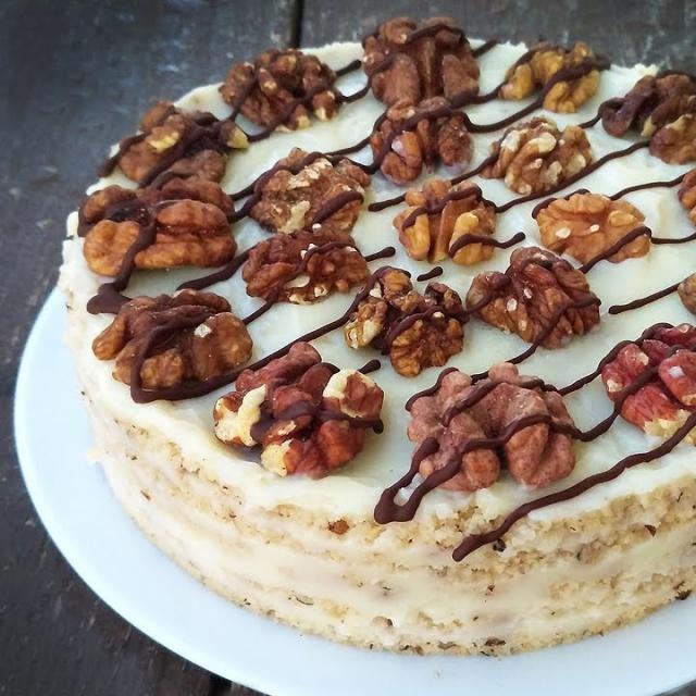 Ореховый Торт без выпечки за 25 минут | ТАЕТ ВО РТУ | Рецепт Алены Митрофановой
