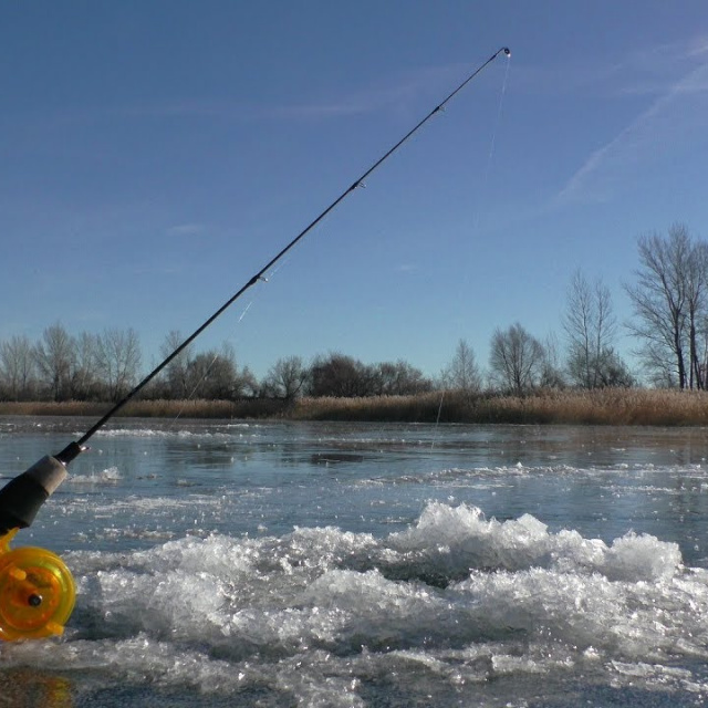 Первый лёд 2018-2019. С этой блесной, Вы не останетесь без рыбы. Зимняя рыбалка