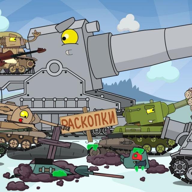 Топ 12 серий Мультики про танки