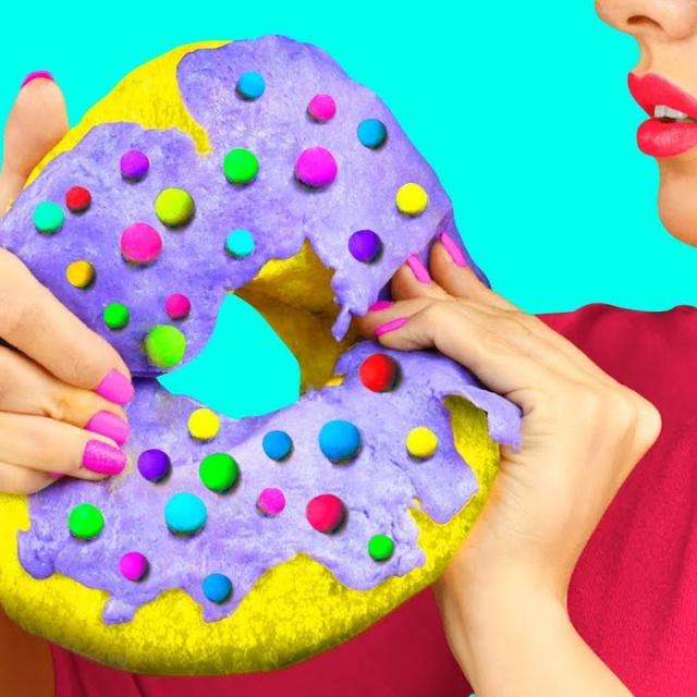 Трум Трум Гигантские и миниатюрные игрушки антистресс и сквиши – 11 идей