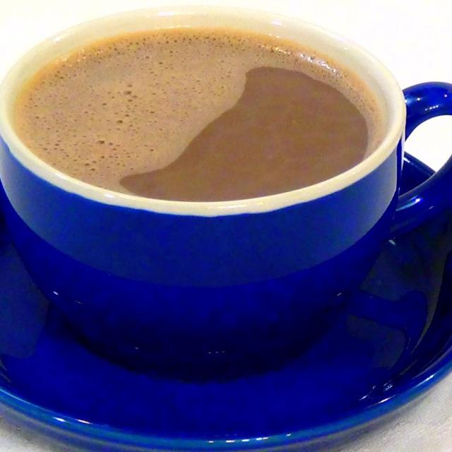 Вкусный какао с молоком