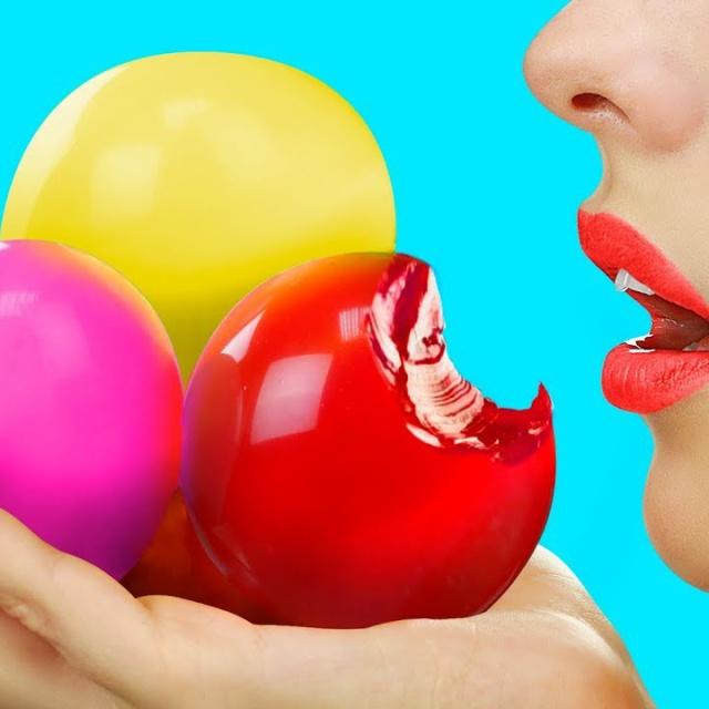 Трум Трум Съедобные игрушки антистресс – 7 идей / Съедобные шарики Орбиз