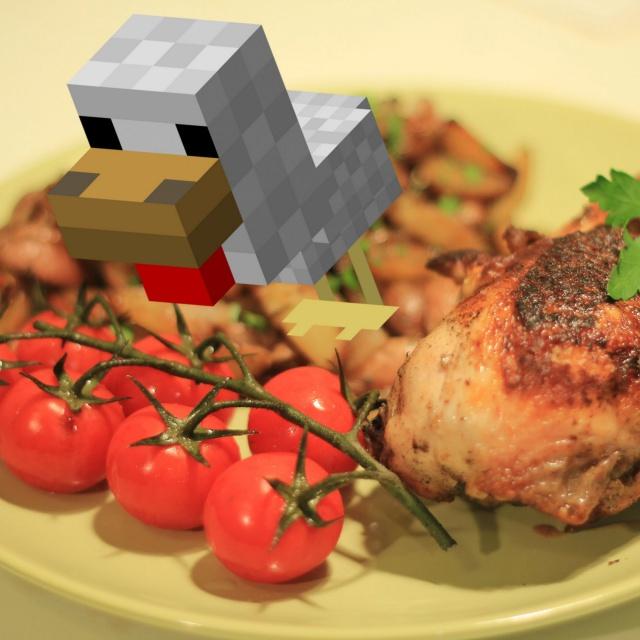 Славный Друже - Жареная курица | Цыпленок табака.