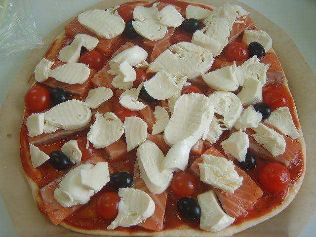 Пицца с лососем | Рецепт Маринкины Творинки