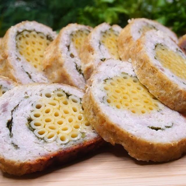 Калнина Наталья Мясной рулет с макаронами|Необыкновенно вкусное блюдо из фарша