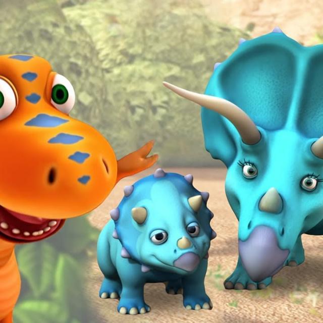 Мультфильм Поезд Динозавров Прекрасное украшение