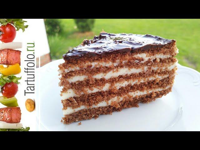 Медовый Торт Без Выпечки - Невероятно вкусный и нежный | Рецепт Алены Митрофановой
