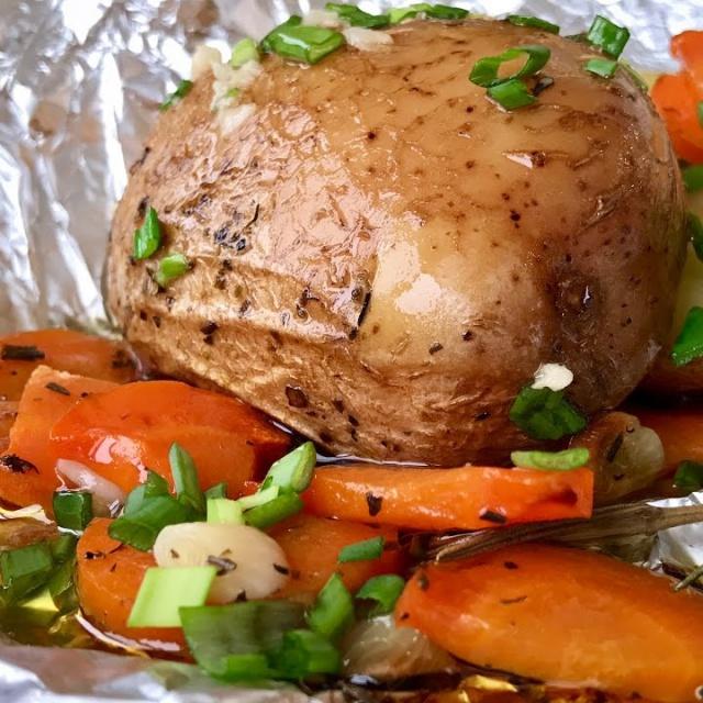 Ольга Матвей  -  Как  Очень Вкусно и Просто Приготовить Картофель  в Мундире | Baked Jacket Potatoes