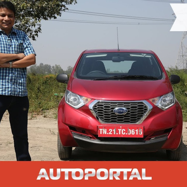Datsun Redi-GO Hindi Test Drive Review - Autoportal