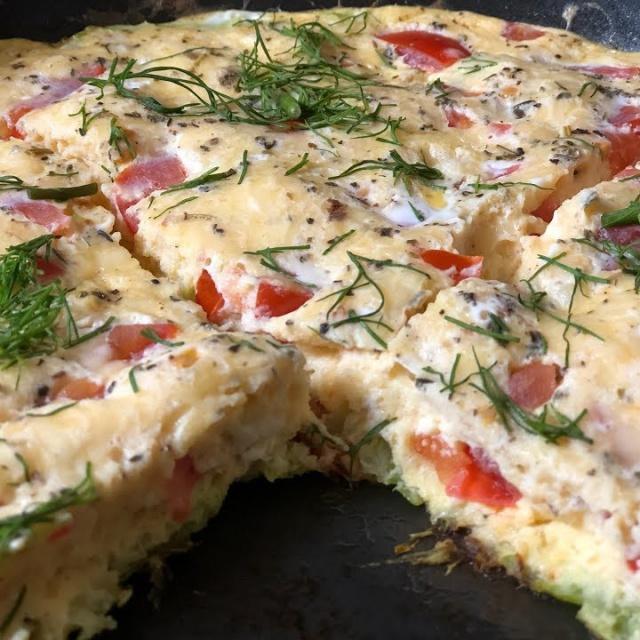 Урожайный огород Улетный завтрак из кабачков вкуснее пиццы