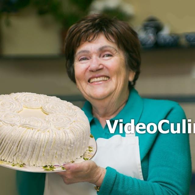 Маскарпоне Простой бисквитный Торт - Рецепт Бабушки Эммы