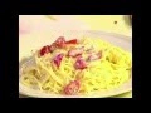 Салат из спагетти и помидоров с греческим соусом | Илья Лазерсон