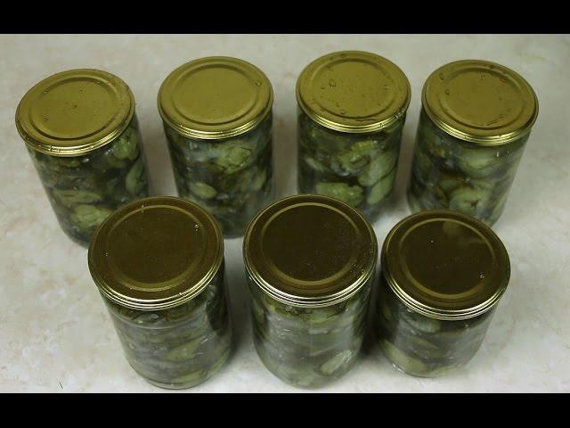 Салат из огурцов на зиму Ирины Хлебниковой