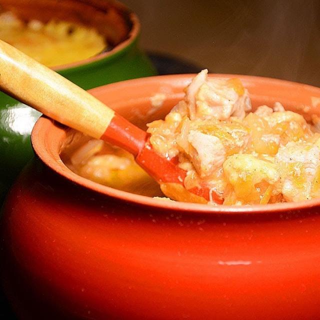 Жаркое из свинины с картошкой в Горшочках Очень вкусный Ужин без труда и хлопот простой рецепт