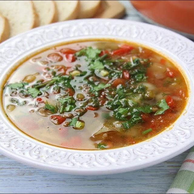 Полноценный Мясной Суп на Скорую Руку Бургер Суп