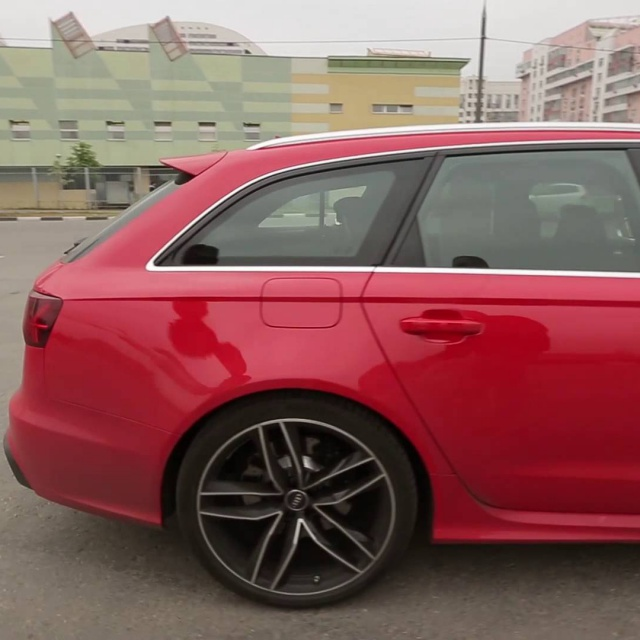 Audi RS6 - Большой тест-драйв / Big Test Drive