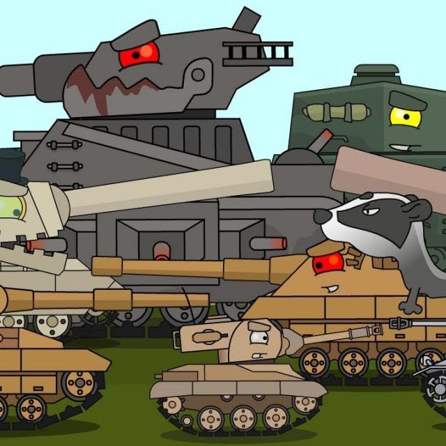 Топ 30 Мультики про танки