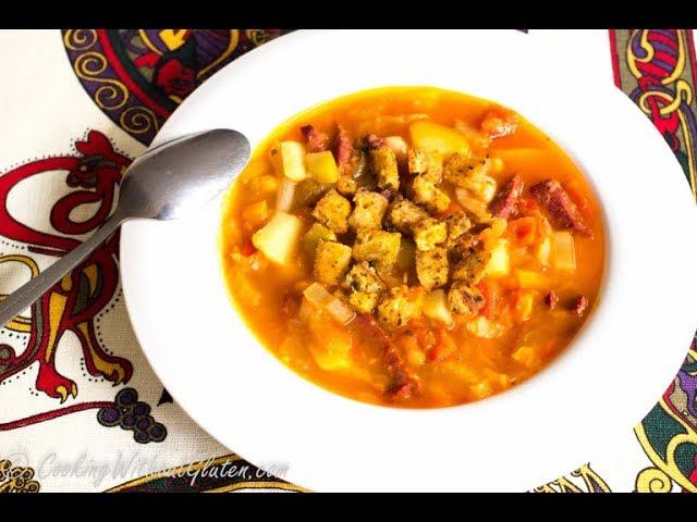 Густая испанская похлебка с колбасой / рецепт от шеф-повара / Илья Лазерсон / Мировой повар