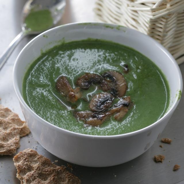 Юлия Высоцкая — Холодный суп пюре из петрушки