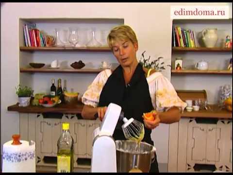 Морковные кексы с апельсином и грецкими орехами | Рецепт Юлии Высоцкой