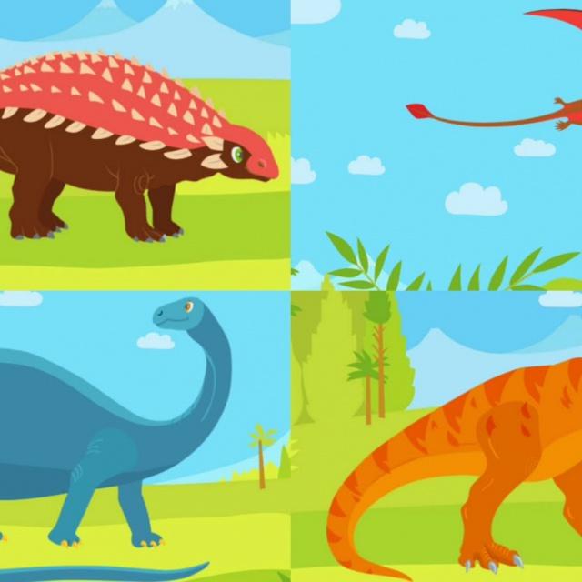 Мультики про Динозавров | Развивающее видео для детей