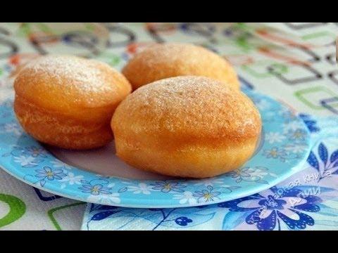 Рецепт -  Вкусных пончиков на дрожжах