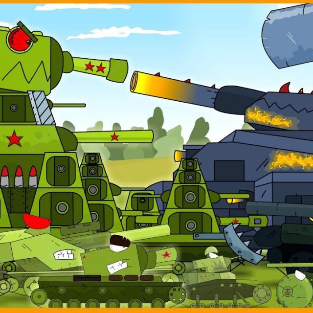 Мультики про танки Финальная атака в Мультике о танках