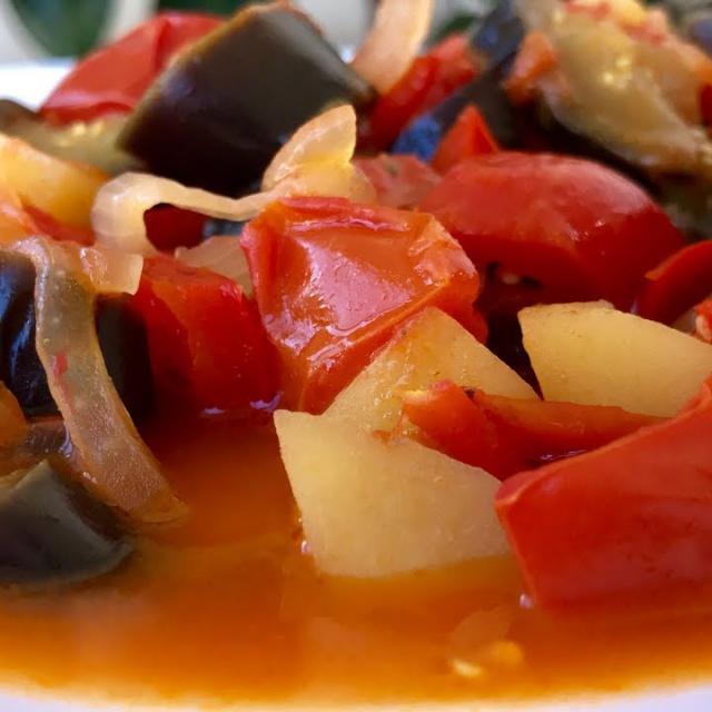 Ужин за 25 Минут | Овощи Карри - Легкий Овощной Ужин | Рецепт Ольги Матвей